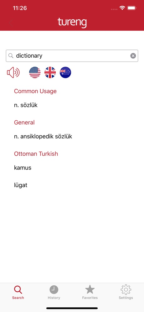 Tureng İngilizce Sözlük