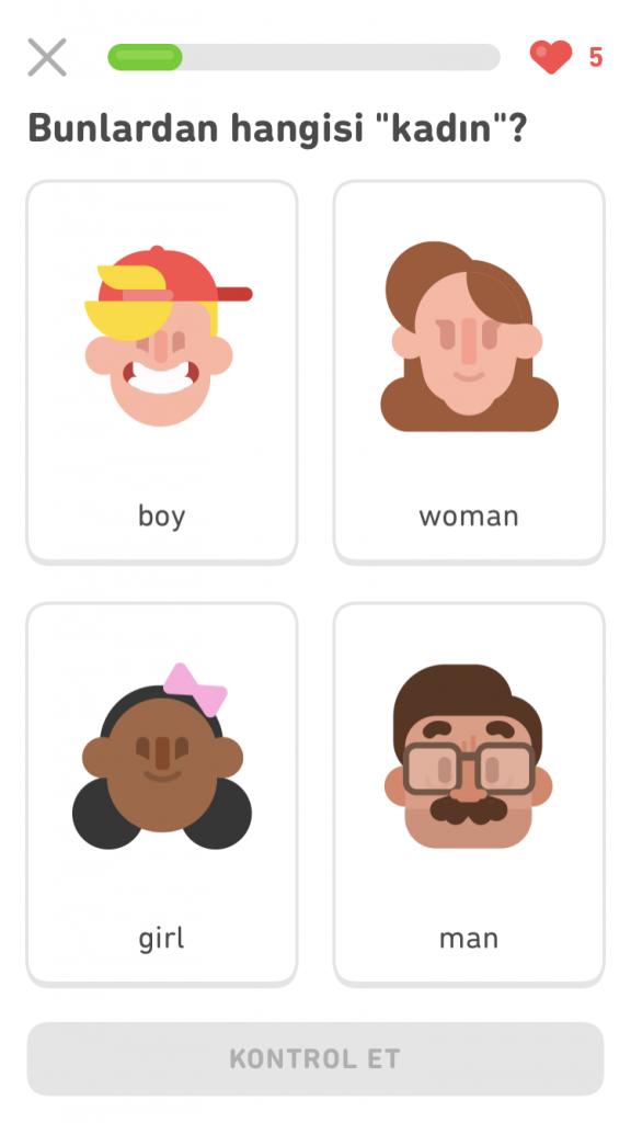 Duolingo İngilizce Kelime Öğrenme
